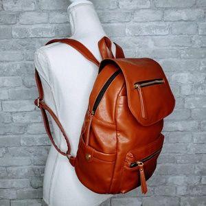 Madden Girl Multi Pocket Top Flap Girls Back Pack